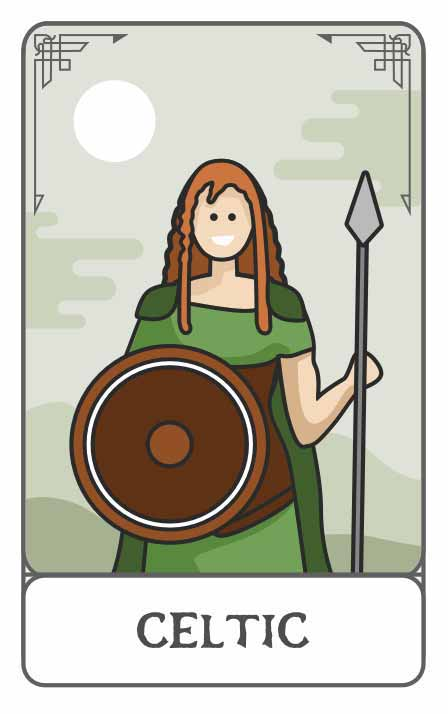 Celtic Mythology character generator