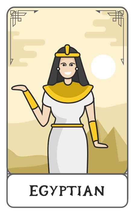 Egyptian Mythology character generator