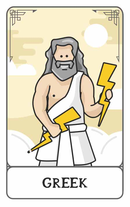 Greek Mythology character generator