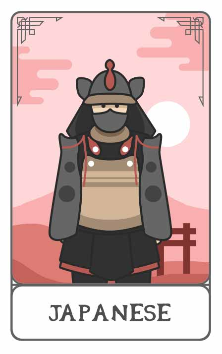 Japanese Mythology character generator