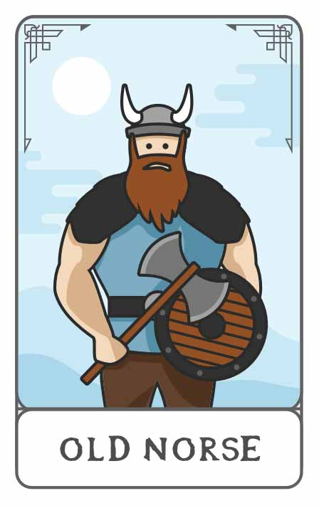Old Norse character generator