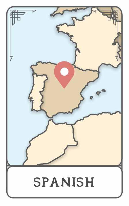 Spanish character generator