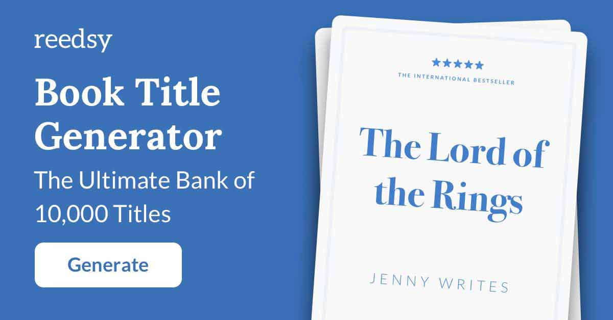 Crime Book Title Generator • The Ultimate Bank of 10,000 Titles
