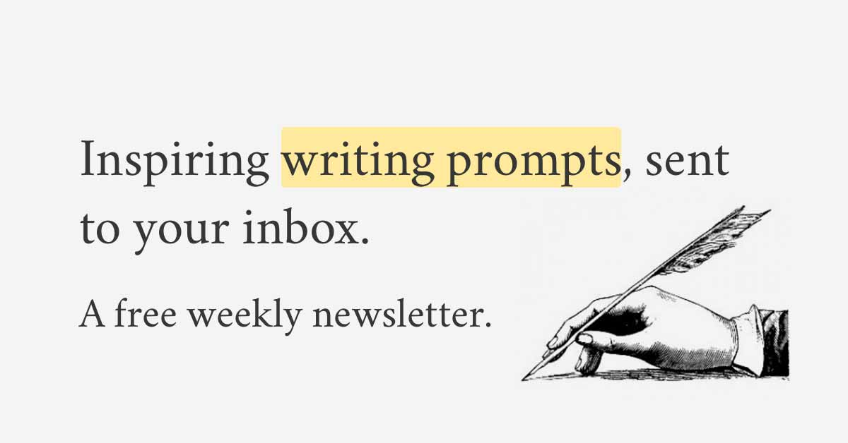 250 writing prompts to inspire you