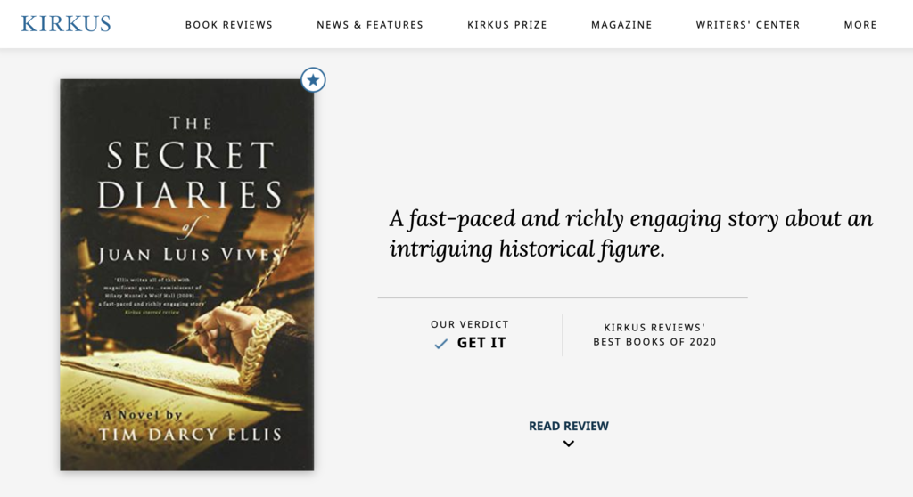 Kirkus Review of The Secret Diaries