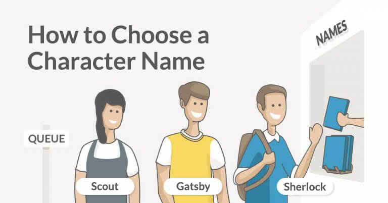 How To Come Up With A Character Name: an Author's Guide