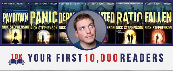 Reader Magnets and Amazon SEO — Nick Stephenson on Author Marketing