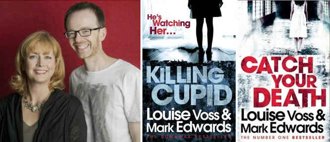 """""""Keep Going"""" — An Interview with #1 Amazon Bestsellers Mark Edwards and Louise Voss"""