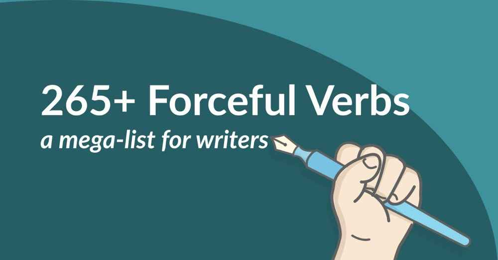 265+ Forceful Verbs to Turn You Into a Literary Tyrannosaurus