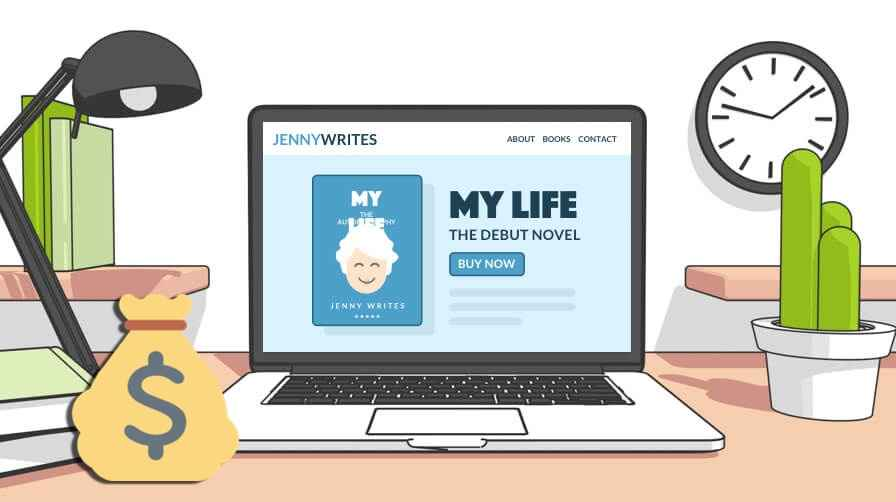 What is the Cost of a Professional Author Website?