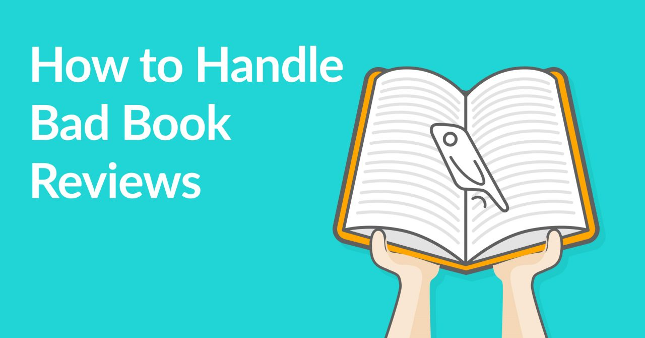 Ten Ways to Handle Bad Book Reviews