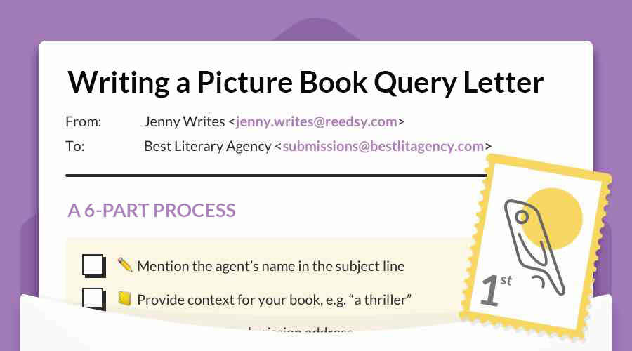 How to Write a Picture Book Query Letter in 6 Simple Steps