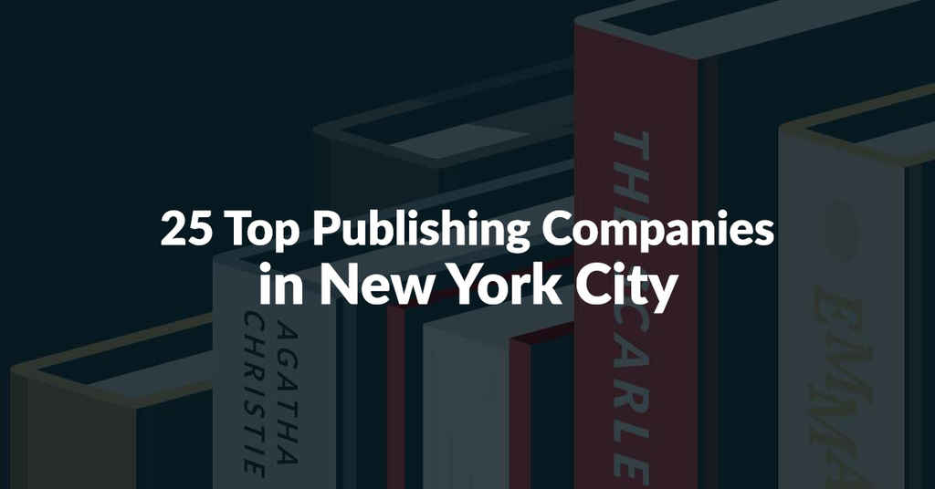 25 Top Publishing Companies in NYC