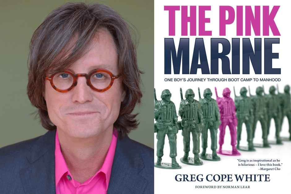 """""""My old publisher made mistakes I wouldn't tolerate""""– The story of Greg White's The Pink Marine"""