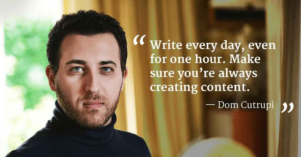 Writing a Book when English is not your First Language by author Dom Cutrupi