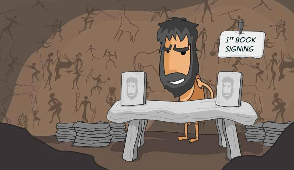 Paleo Publishing: A Caveman's Guide to Book Marketing