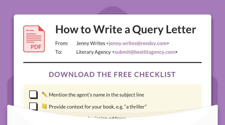 Query Letter Checklist 2