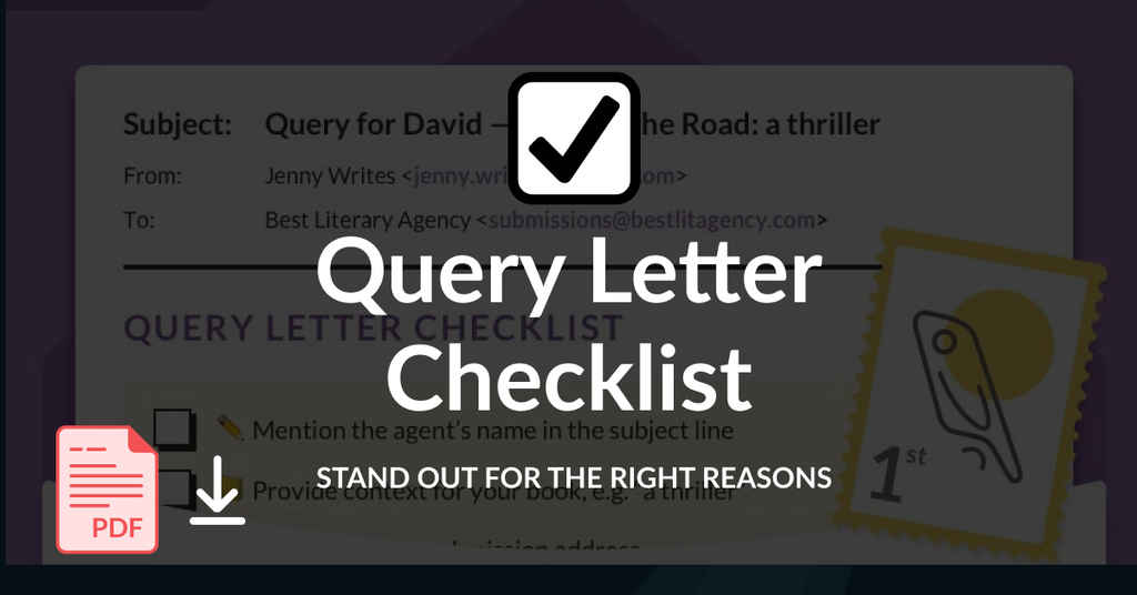 Query Letter Checklist 3 (New Style)