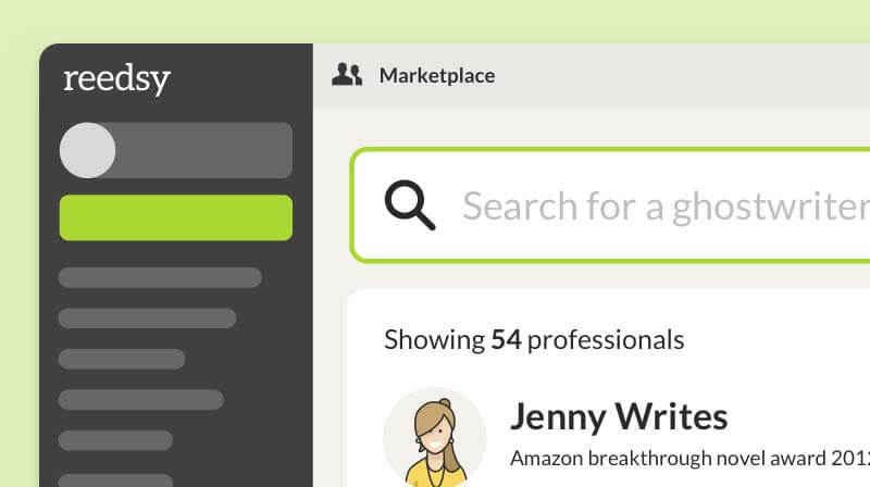 Marketplace Ghostwriter