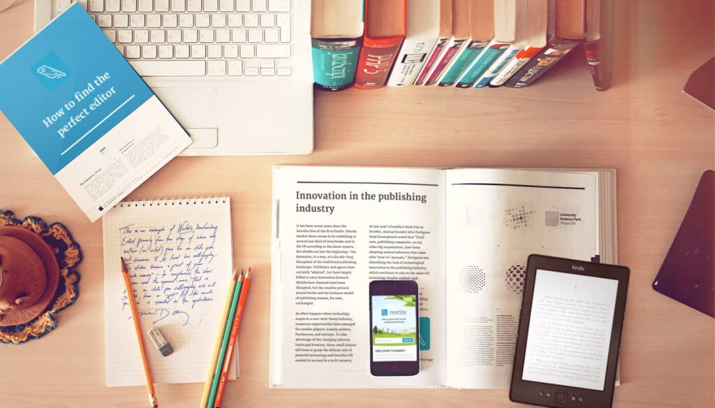 publishing startups