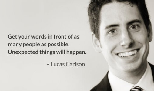 Lucas Carlson Think Bigger for your Books