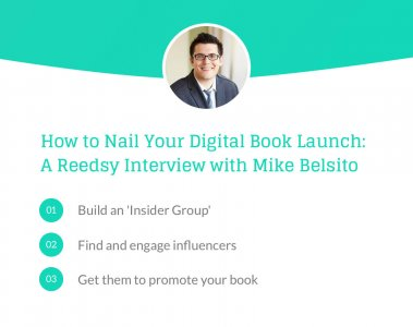 Nail your Book Launch Mike Belsito