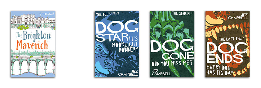 Simon Avery Cover Designs