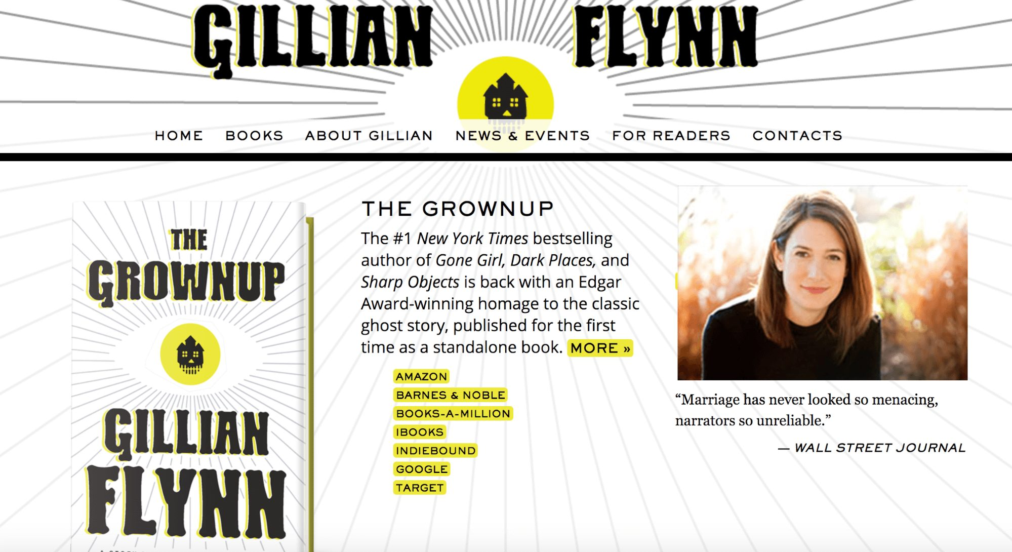 Gillian Flynn Author Website
