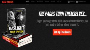 Mark Dawson Author Website