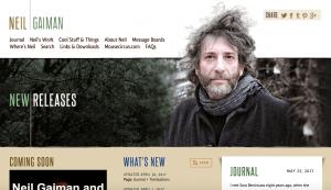 Neil Gaiman Author Website
