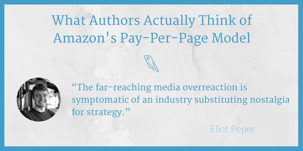 Amazon pay-per-page Eliot Peper
