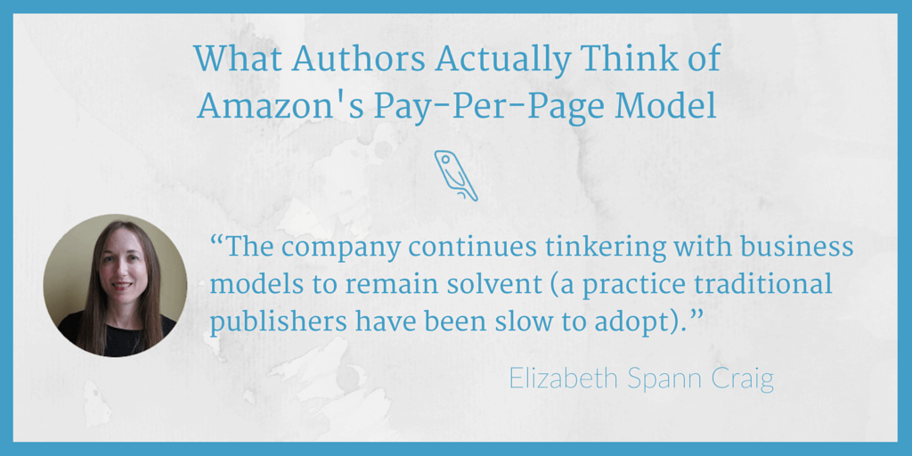 Amazon pay-per-page Elizabeth Craig