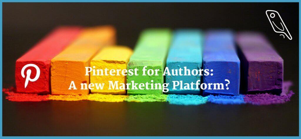 Pinterest for Authors Header