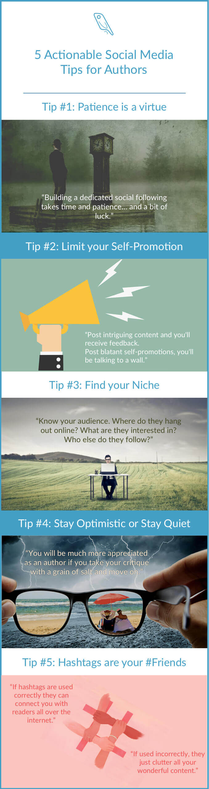 Social Media Tips for Authors