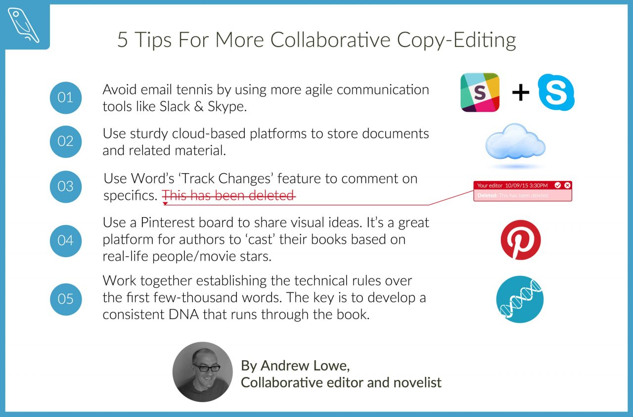 Collaborative editing tips