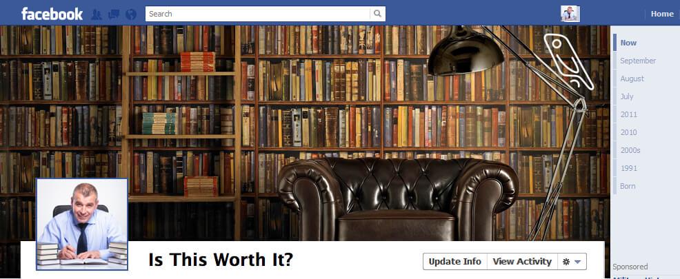 Facebook Author Page Header