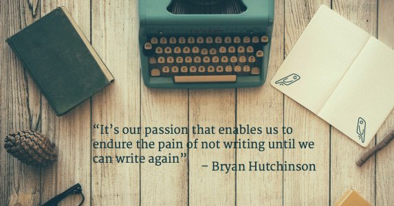 Overcoming Writer's Block: An interview with Bryan Hutchinson