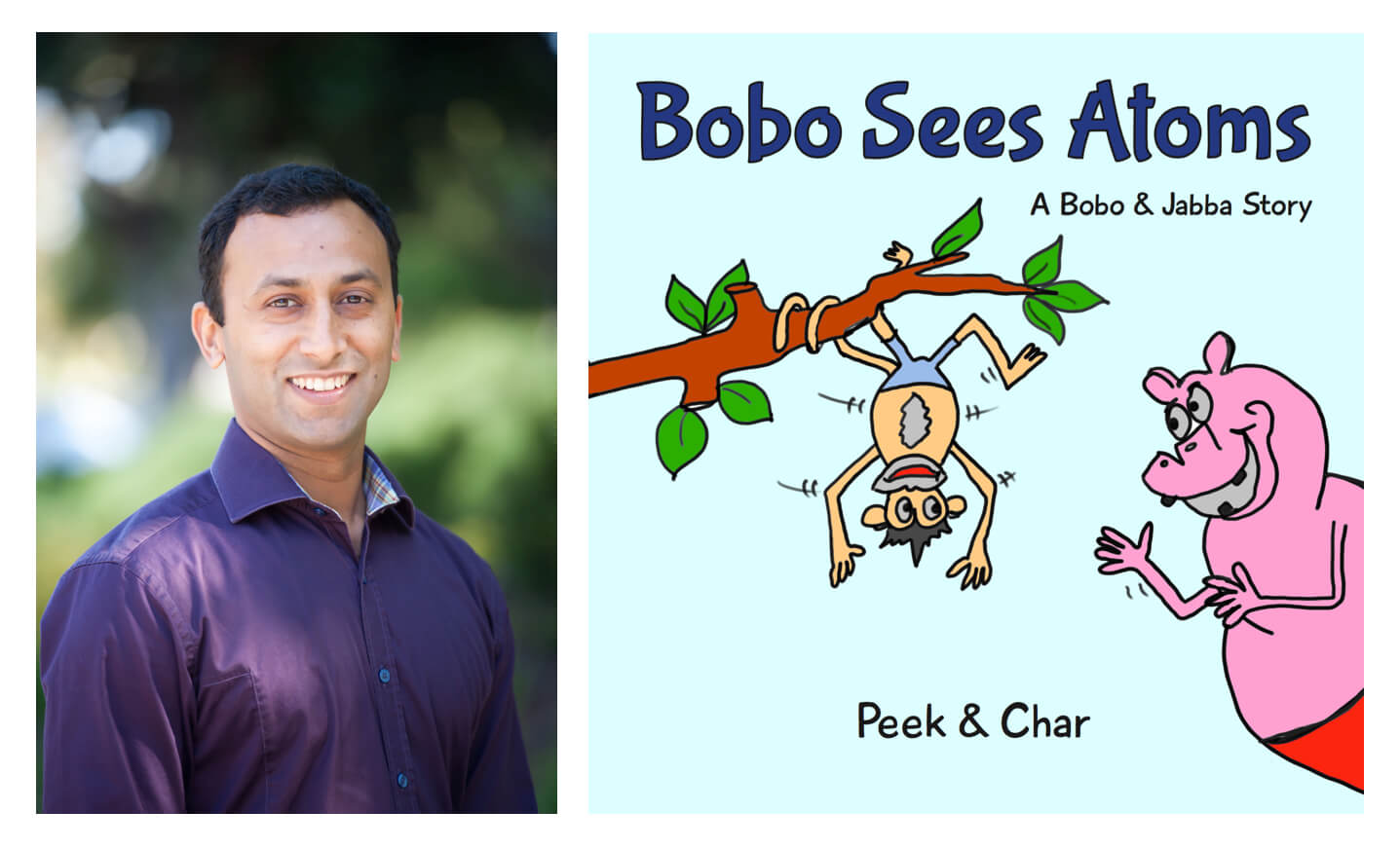 children's book Bobo Sees Atoms