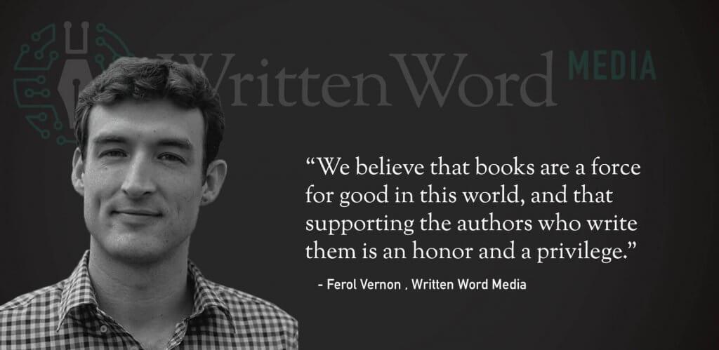 written word media ferol vernon quote