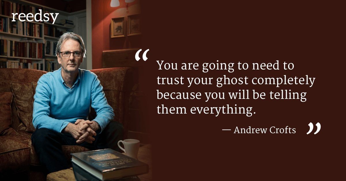 Hire a ghostwriter Andrew Crofts