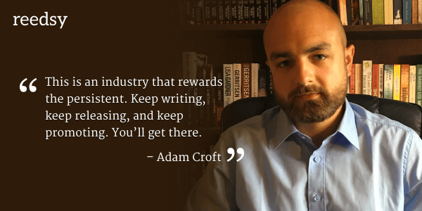 Self-publishing tips from Adam Croft