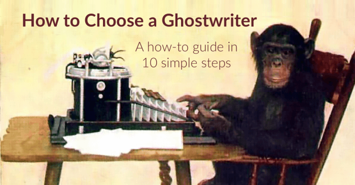How to choose a ghostwriter header