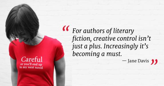 Self-publish literary fiction Jane Davis