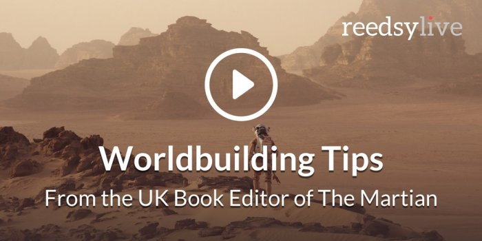 Worldbuilding Tips with Michael Rowley