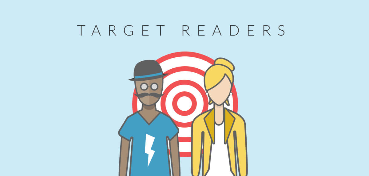 how to become an author -- target readers