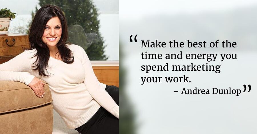 Andrea Dunlop Social Media Authors