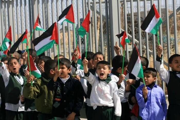 Children Protest the Gaza Blockade