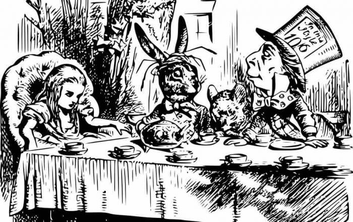Alice in Wonderland NaNoWriMo Advice