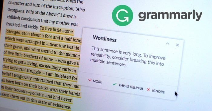 Writing Grammarly