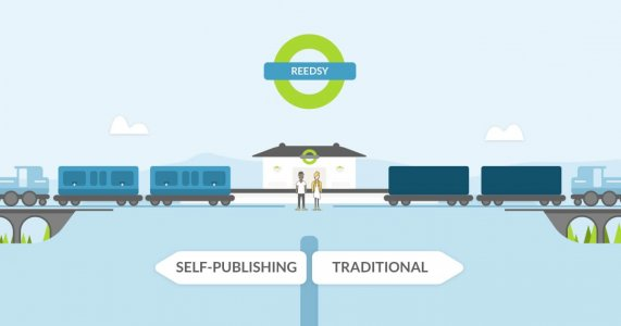Image result for reedsy self publishing vs traditional